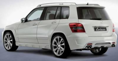 Exhaust - Custom Fit Exhaust - Lorinser - Mercedes-Benz GLK Class Lorinser Exhaust - 490 1204 05
