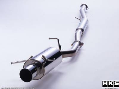 Exhaust - Custom Fit Exhaust - HKS - Mazda RX-7 HKS Silent Hi-Power Exhaust System - 31019-AZ001