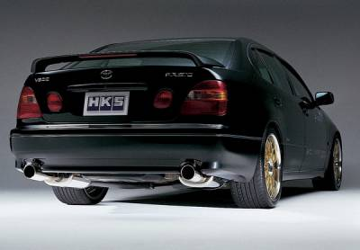 Exhaust - Custom Fit Exhaust - HKS - Mitsubishi 3000GT HKS Turbo Exhaust System - LET-M08