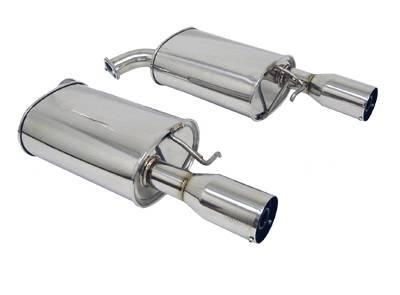Exhaust - Custom Fit Exhaust - Megan Racing - Lexus SC Megan Racing Axle-Back Exhaust System - MR-ABE-LSC3