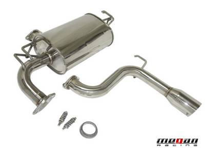 Exhaust - Custom Fit Exhaust - Megan Racing - Toyota Celica Megan Racing Axle-Back Exhaust System - MR-ABE-TCE00-OE