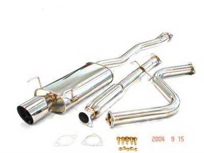Exhaust - Custom Fit Exhaust - Megan Racing - Honda Accord Megan Racing Type 2 Series Cat-Back System - MR-CBS-HA90T2