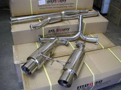 Exhaust - Custom Fit Exhaust - Megan Racing - Honda Accord 2DR Megan Racing NA Series Cat-Back Exhaust System - MR-CBS-HA98V6