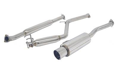 Exhaust - Custom Fit Exhaust - Megan Racing - Honda Civic 2DR Megan Racing NA Series Cat-Back Exhaust System - MR-CBS-HC062D