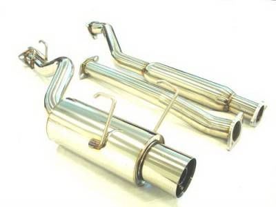 Exhaust - Custom Fit Exhaust - Megan Racing - Honda Civic 2DR & 4DR Megan Racing Drift Spec Style Cat-Back Exhaust System - MR-CBS-HC92C-D