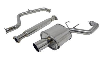 Exhaust - Custom Fit Exhaust - Megan Racing - Mitsubishi Eclipse Megan Racing OE-RS Series Cat-Back System - MR-CBS-ME06V6