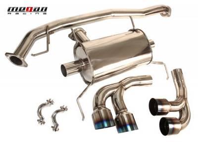 Exhaust - Custom Fit Exhaust - Megan Racing - Nissan GT-R Megan Racing OE-RS Series Cat-Back System - MR-CBS-NR35T