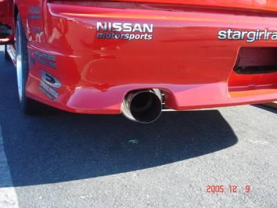 Exhaust - Custom Fit Exhaust - Megan Racing - Nissan 240SX Megan Racing Drift Spec Style Cat-Back Exhaust System - MR-CBS-P3