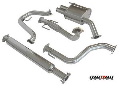 Exhaust - Custom Fit Exhaust - Megan Racing - Saab 9-3 Megan Racing OE-RS Series Cat-Back System - MR-CBS-S930620