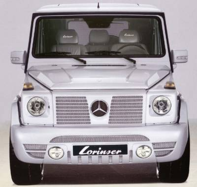 Grilles - Custom Fit Grilles - Lorinser - Mercedes-Benz G Class Lorinser Front Radiator Grille - 488 0465 00