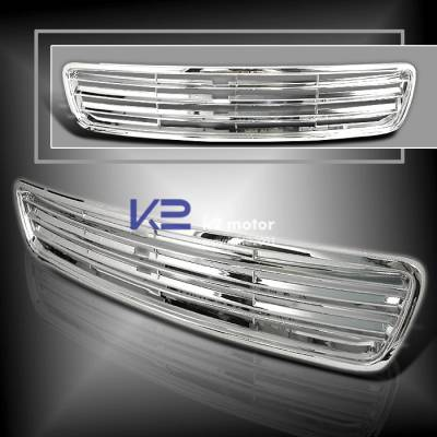 K2 - Sports Front Grille - Chrome