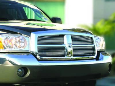 Grilles - Custom Fit Grilles - In Pro Carwear - Dodge Dakota IPCW Billet Grille - Cut-Out - 1PC - CWBG-05DK