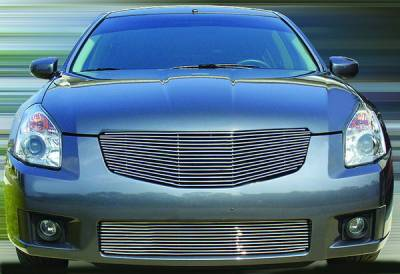 Grilles - Custom Fit Grilles - In Pro Carwear - Nissan Maxima IPCW Billet Grille - Cut-Out - 1PC - CWBG-07MAX