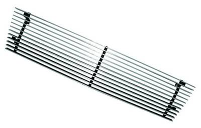 Grilles - Custom Fit Grilles - In Pro Carwear - Chevrolet S10 IPCW Billet Grille - Cut-Out - 1PC - CWBG-8290S10