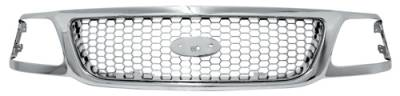 Grilles - Custom Fit Grilles - In Pro Carwear - Cadillac Escalade In Pro Carwear Grille - CWG-CD0307B0C