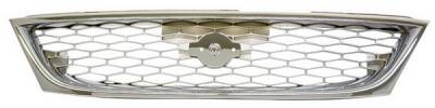 Grilles - Custom Fit Grilles - In Pro Carwear - Nissan Sentra IPCW Chrome Grille - CWG-DS0707C0C