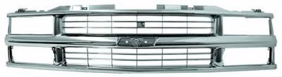 Grilles - Custom Fit Grilles - In Pro Carwear - Chevrolet CK Truck IPCW Chrome Grille - CWG-GR0307K0C