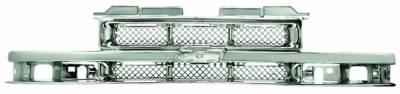 Grilles - Custom Fit Grilles - In Pro Carwear - Chevrolet Blazer IPCW Chrome Grille - CWG-GR3207L0C