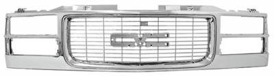 Grilles - Custom Fit Grilles - In Pro Carwear - GMC Envoy In Pro Carwear Grille - CWG-GR3307E0C