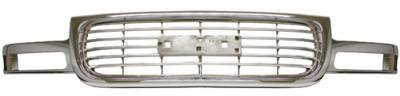Grilles - Custom Fit Grilles - In Pro Carwear - Honda Civic In Pro Carwear Grille - CWG-HD3107F0C