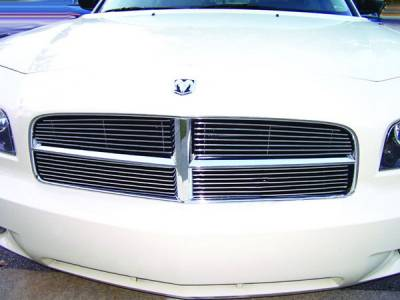 Grilles - Custom Fit Grilles - In Pro Carwear - Dodge Charger IPCW Billet Grille - Bolt-On - 1PC - CWOB-06CHA