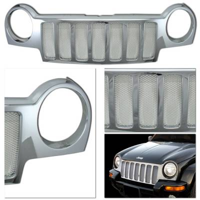 Grilles - Custom Fit Grilles - MotorBlvd - Jeep Liberty Grille