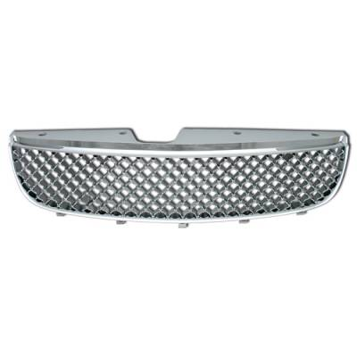 Grilles - Custom Fit Grilles - Motor Blvd - Chrome Front Grille
