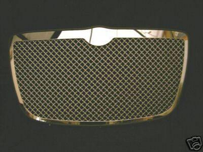 K2 - Euro Mesh Grille - Chrome Gunmetal