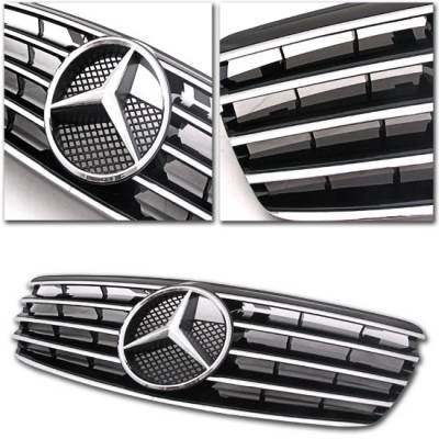 Grilles - Custom Fit Grilles - Motor Blvd - AMG Style Grille W211