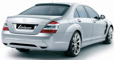 Spoilers - Custom Wing - Lorinser - Mercedes-Benz S Class Lorinser Rear Deck Lid Spoiler - 488 0221 75