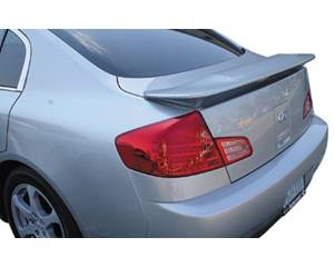 Spoilers - Custom Wing - JSP - Infiniti G35 JSP Paintable Wings - OEM With LED - 27404