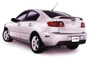Spoilers - Custom Wing - JSP - Mazda 3 JSP OEM Style Paintable Wings - 47426