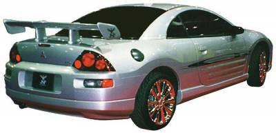 Spoilers - Custom Wing - JSP - JSP Super Touring Spoiler 58 Inch Universal Apache Style - 97211