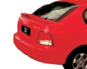 Spoilers - Custom Wing - JSP - Hyundai Accent JSP Paintable Wings - OEM With LED - 97222