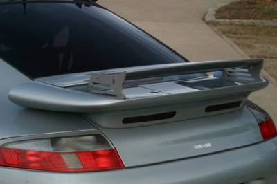 Spoilers - Custom Wing - Hamann - Rear Wing Gurney - Flap ( Carbon Fiber )