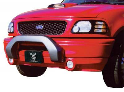 Spoilers - Custom Wing - JSP America - JSP America Defender Front Spoiler - Lighted - Primer Finish - J3006