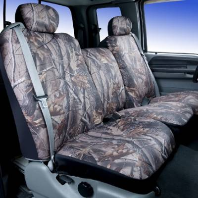 Car Interior - Seat Covers - Saddleman - Pontiac Safari Saddleman Camouflage Seat Cover