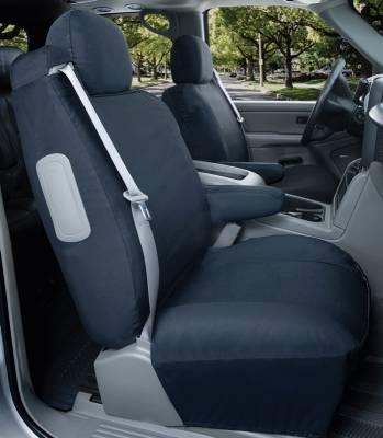 Car Interior - Seat Covers - Saddleman - Pontiac Safari Saddleman Canvas Seat Cover