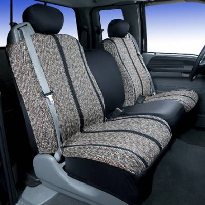 Car Interior - Seat Covers - Saddleman - GMC Savana Saddleman Saddle Blanket Seat Cover