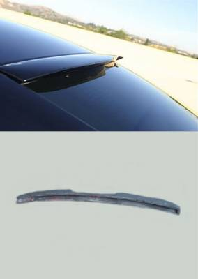 Spoilers - Custom Wing - KBD Urethane - Dodge Charger Rear Roof Spoiler
