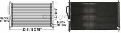Factory OEM Auto Parts - AC Condensers Compressors - OEM - AC Condenser