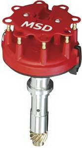 Ignition Systems - Distributors - MSD - Chevrolet MSD Ignition Distributor - Tall Block - Low Profile - 8558
