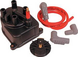 Ignition Systems - Distributors - MSD - Honda Civic MSD Ignition Distributor Cap & Rotor - 82923
