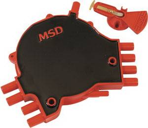 Ignition Systems - Distributors - MSD - GM MSD Ignition LT-1 Distributor Cap & Rotor Kit - 84811