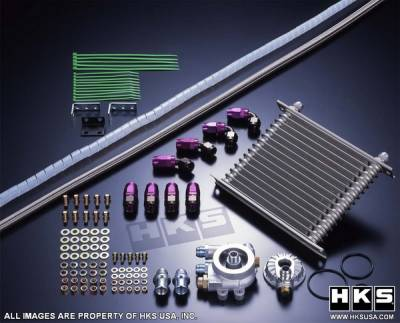 Performance Parts - Engine Internals - HKS - Nissan 300Z HKS Oil Cooler Kit - 15004-AN022