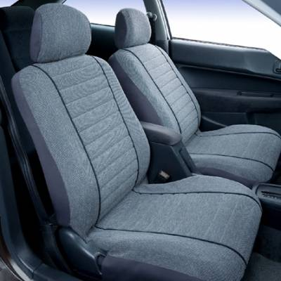 Car Interior - Seat Covers - Saddleman - Chevrolet Silverado Saddleman Cambridge Tweed Seat Cover