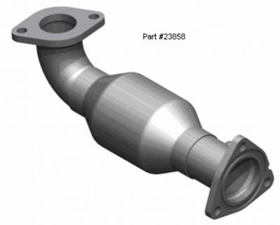 Exhaust - Exhaust Manifolds - MagnaFlow - Magnaflow Direct Fit Manifold Converter - 23858