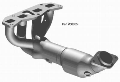 Exhaust - Exhaust Manifolds - MagnaFlow - Magnaflow Direct Fit Manifold Converter - 50805