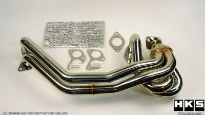 Exhaust - Exhaust Manifolds - HKS - Mazda RX-7 HKS Turbo Exhaust Manifold - Stainless Steel