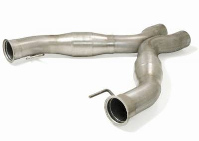 JBA - Ford Mustang JBA Catted Shorty X-Pipe - 23114